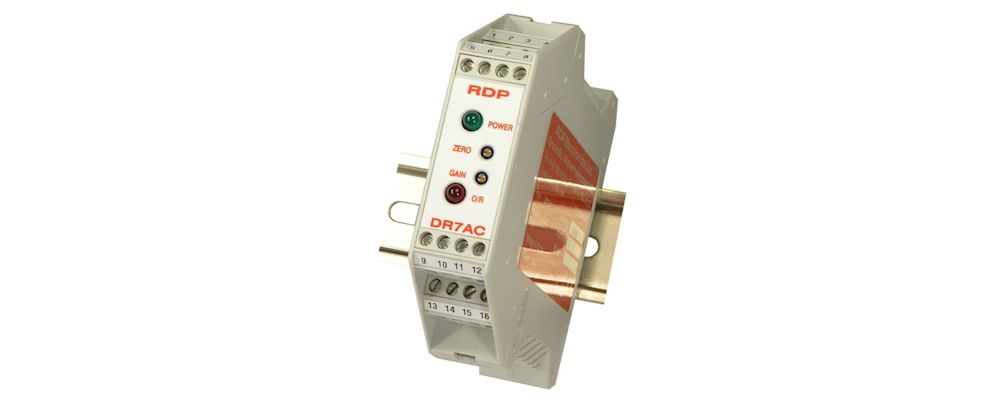 image of DIN rail mounting Amplifier type DR7AC