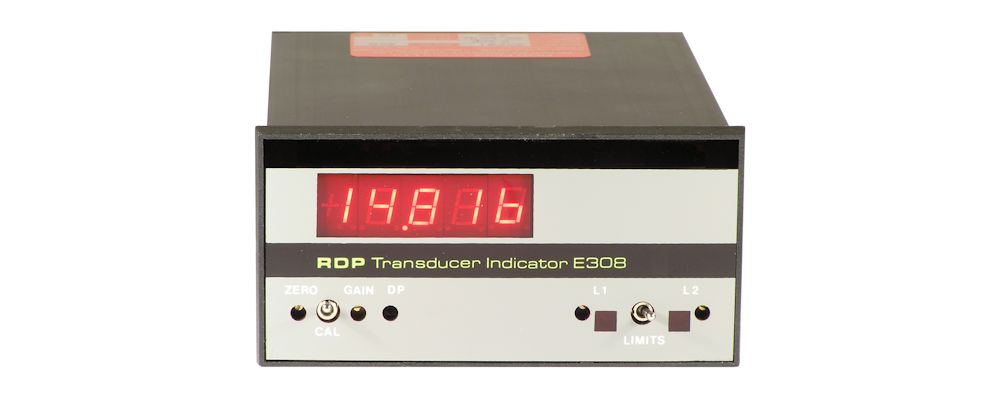 image of panel meter E308 For Strain Gauge Transducers