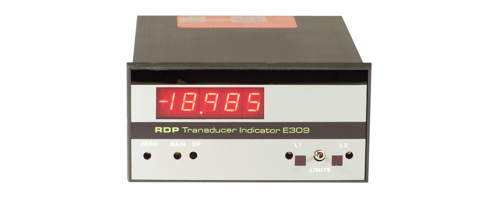image of panel meter  E309 For LVDT Transducers