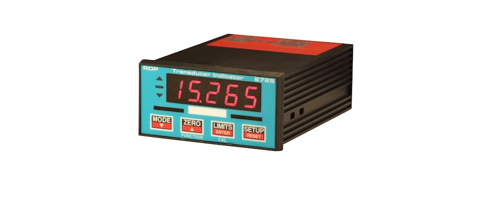 image of panel meter E725 For Strain Gauge And LVDT Transducers