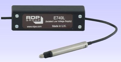 image of E749L In-Line Signal Conditioning Amplifiers . <BR> Supply 5 to 18V, Output ±2.2V (isolated).